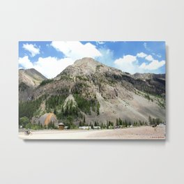 Looking East from the Eureka Gold Mine Metal Print