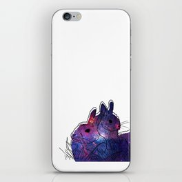 Bunny Mother And Baby iPhone Skin