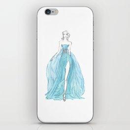 Floating Dress iPhone Skin