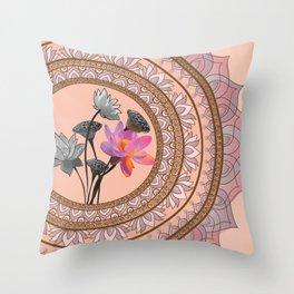 The Lotus Series - Resilience Throw Pillow