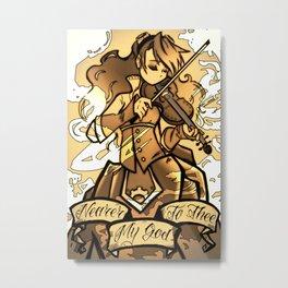 Steam Strung Metal Print