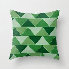 The Emerald City Throw Pillow