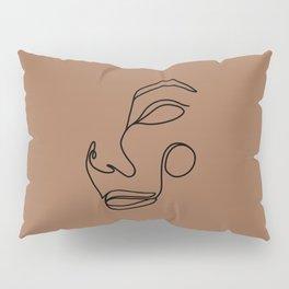 Minimalist femme, espresso Pillow Sham