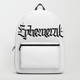 Ephemeral Backpack