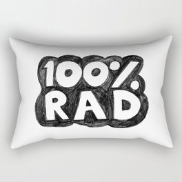 100 % RAD - Bubble Rectangular Pillow
