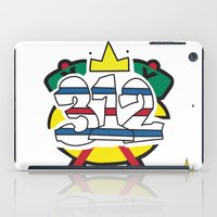 blackhawks iPad Cases featuring Chicago Pride Blackhawks by TyRex Creations