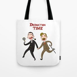 Deduction Time Tote Bag
