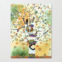 Raven Tree of Life Canvas Print