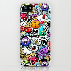 Bizarre Graffiti #1 iPhone SE Slim Case