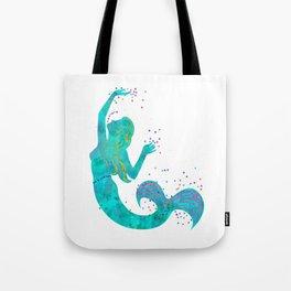 Love Mermaid Tote Bag