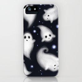 night sky ghosties iPhone Case