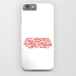MGTOW - Red Pill Cloud iPhone Case