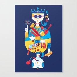 Jack of Smarts (Knave of Slobs) Canvas Print