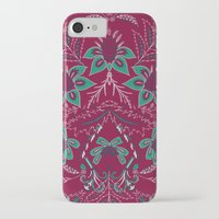 folk iPhone & iPod Cases featuring Folk by Laura Braisher