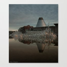 Reflections in MOG 2 Canvas Print