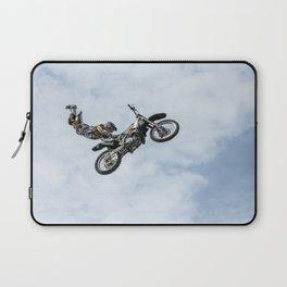 Motocross High Flying Jump Laptop Sleeve
