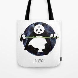 Panda Zodiac Libra Tote Bag