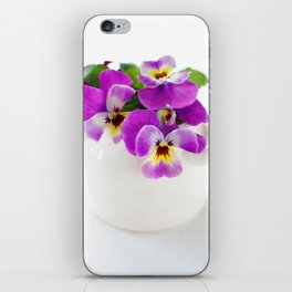 pansy 07 iPhone Skin