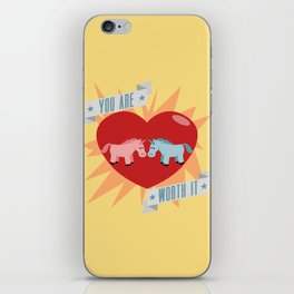 Unicorns are Worth It iPhone Skin