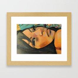 Lindy Framed Art Print