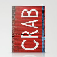 crab Stationery Cards featuring Crab by Shy Photog