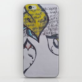 Ode to Love Loss, Difficult Choices, and Disquieted Emotions iPhone Skin