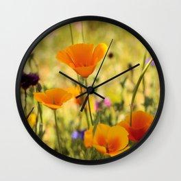 Summer Garden - JUSTART © Wall Clock