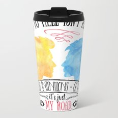Carry On - Road To Hell Metal Travel Mug