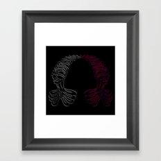 If Only (Heartless) Framed Art Print