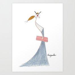 SIGNATURE STYLE Art Print