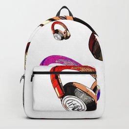 Headphone Music Love Backpack