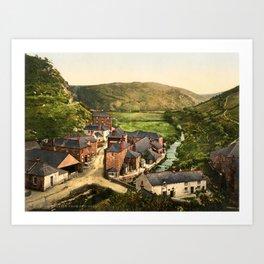 New Road, Boscastle, Cornwall, ca. 1895 Art Print