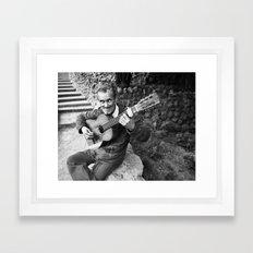 Flamenco Callejero Framed Art Print
