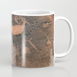 Desert Rock Art - Petroglyphs - II Coffee Mug