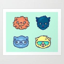 The Cool Cats Art Print