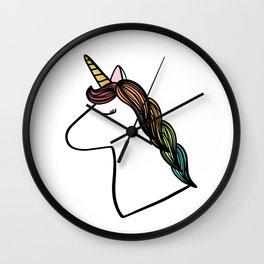 Charlize the Unicorn Wall Clock