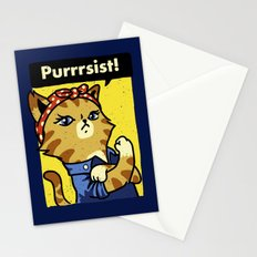 Purrsist Stationery Cards