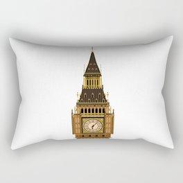 Big Ben Clock Face Rectangular Pillow