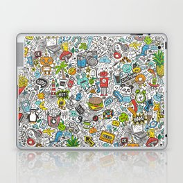 Comic Pop art Doodle Laptop & iPad Skin