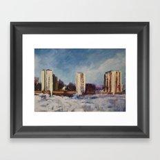 Borlänge - Sweden Framed Art Print