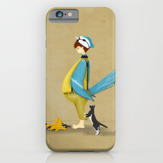 Blue Chickadee iPhone & iPod Case