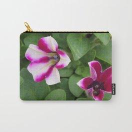 Bi-color Calibrachoa Carry-All Pouch