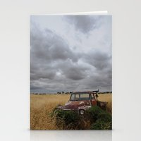 truck Stationery Cards featuring Truck by Adam Wood