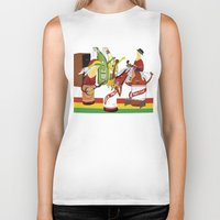 rasta Biker Tanks featuring rasta & cheers by gran mike