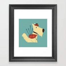 Scottish  Terrier - My Pet Framed Art Print