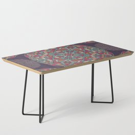 Colorful Mandala Pattern 015 Coffee Table
