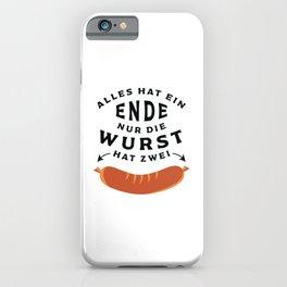 German Sausage Oktoberfest iPhone Case