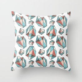 Diamonds are forever Pattern 3 Throw Pillow