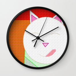 Maneki-Neko: Kei, The Lucky Cat of Harajuku Wall Clock