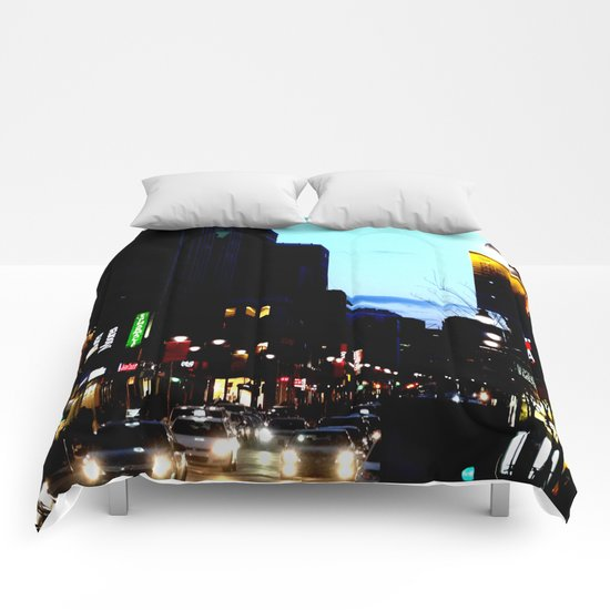 DownTowN - Night's coming Comforters
